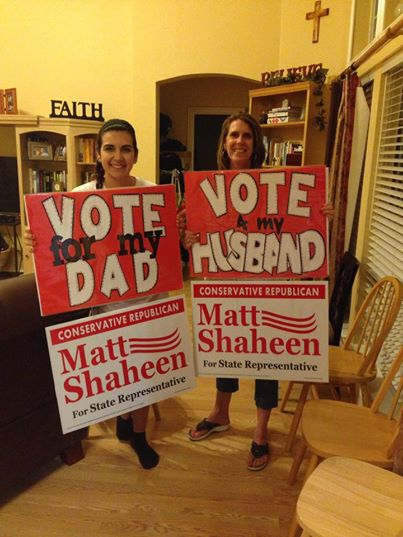 Matt Shaheen won the Republican Primary Run-off