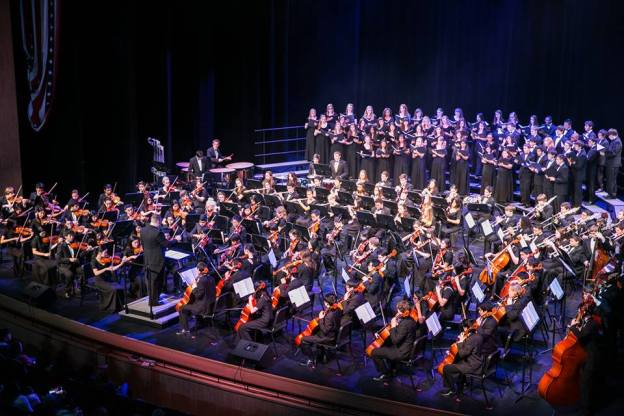 Congrats to the Allen High School Orchestra on winning the American Award.
