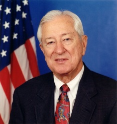 Congressman Ralph Hall was air lifted to Medical Center of Plano in serious condition, but has since been upgraded to stable condition.