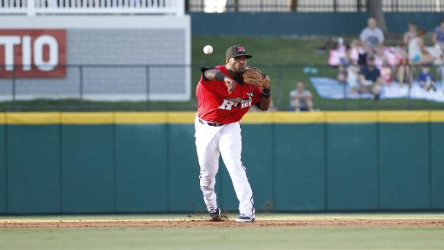 Photo of shortstop Hanser Alberto courtesy of the Frisco RoughRiders