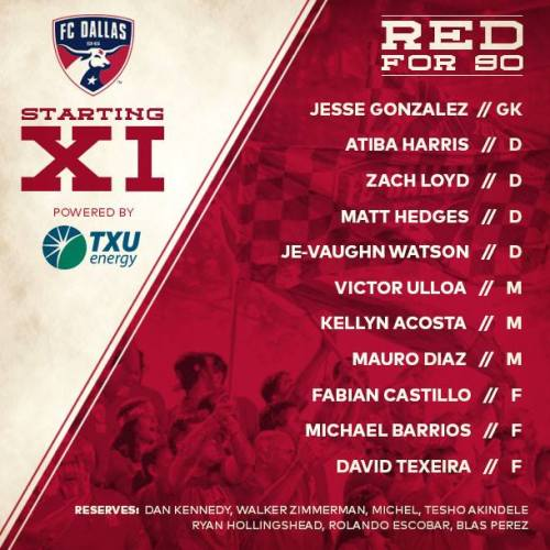 FC Dallas takes on the Houston Dynamo