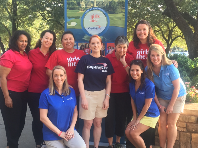 Stonebridge Ranch in McKinney, Texas, hosted the Girls Inc golf event.
