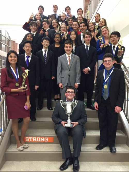Congrats to the Plano Senior Speech team on first place at the Byron Nelson High School tournament.