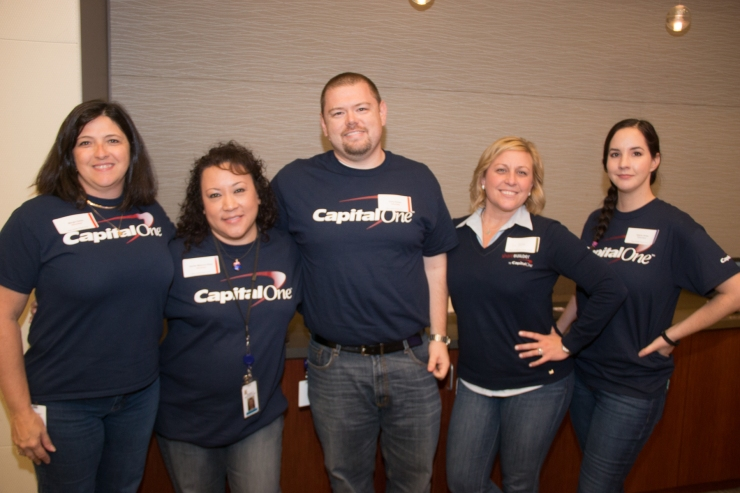 Capital One hosted an HR Empowers event to help members of local non-profit organizations prepare for their job search by helping them build their resumes, conducting mock interviews and providing professional headshots.