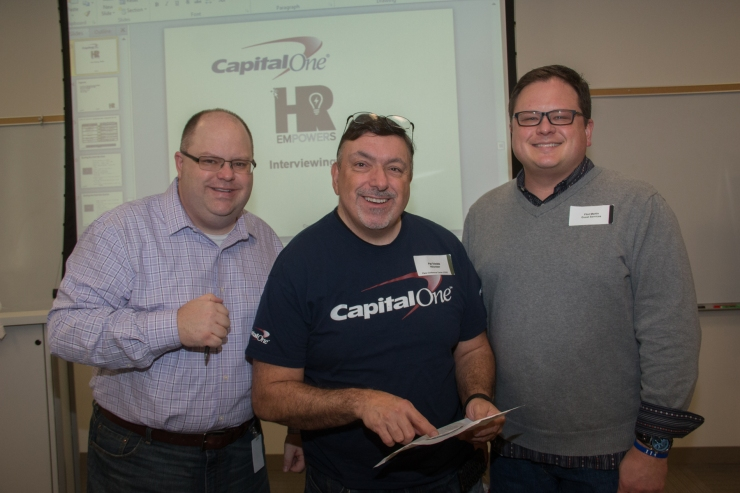 "Capital One Financial Services' human resources (HR) department recently hosted an ""HR Empowers"" event for individuals served by various local non-profit organizations including Samaritan Inn, Per Scholas, YWCA and Collin County Children's Advocacy Center."
