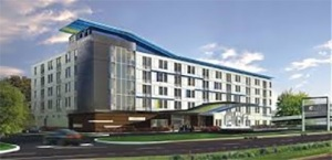 The corner of Bethany and 75 will soon have a new hotel when Aloft opens in 2018