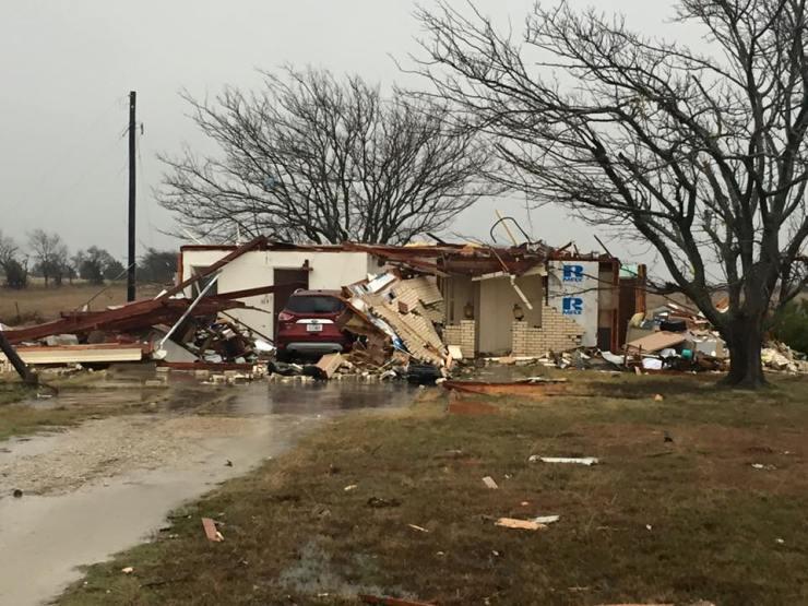 Collin County TX tornado - Photo by Chris Hill
