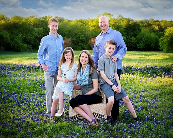 Chris Hill Family